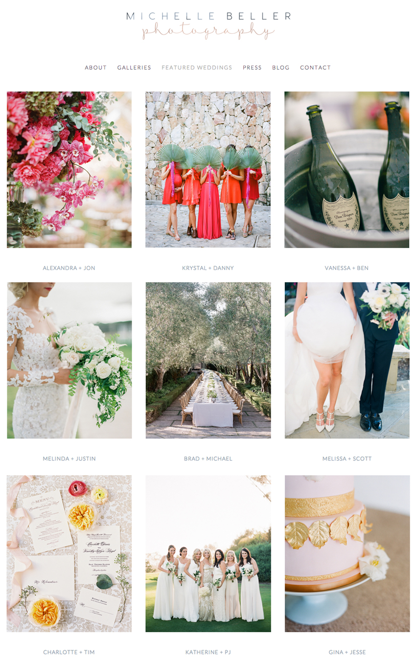 Squarespace Website Designer for Wedding Photographers | Heather Sharpe of The Editor's Touch