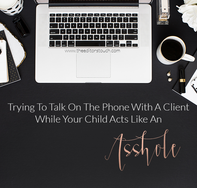 Running a business while being a mom of young kids | The Editor's Touch