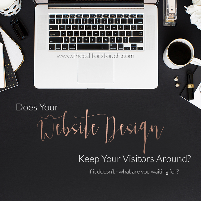 Does Your Website Impress Your Visitors?  Do They Click Around?