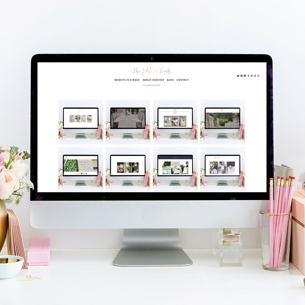 The Editor's Touch | Squarespace Website Designer