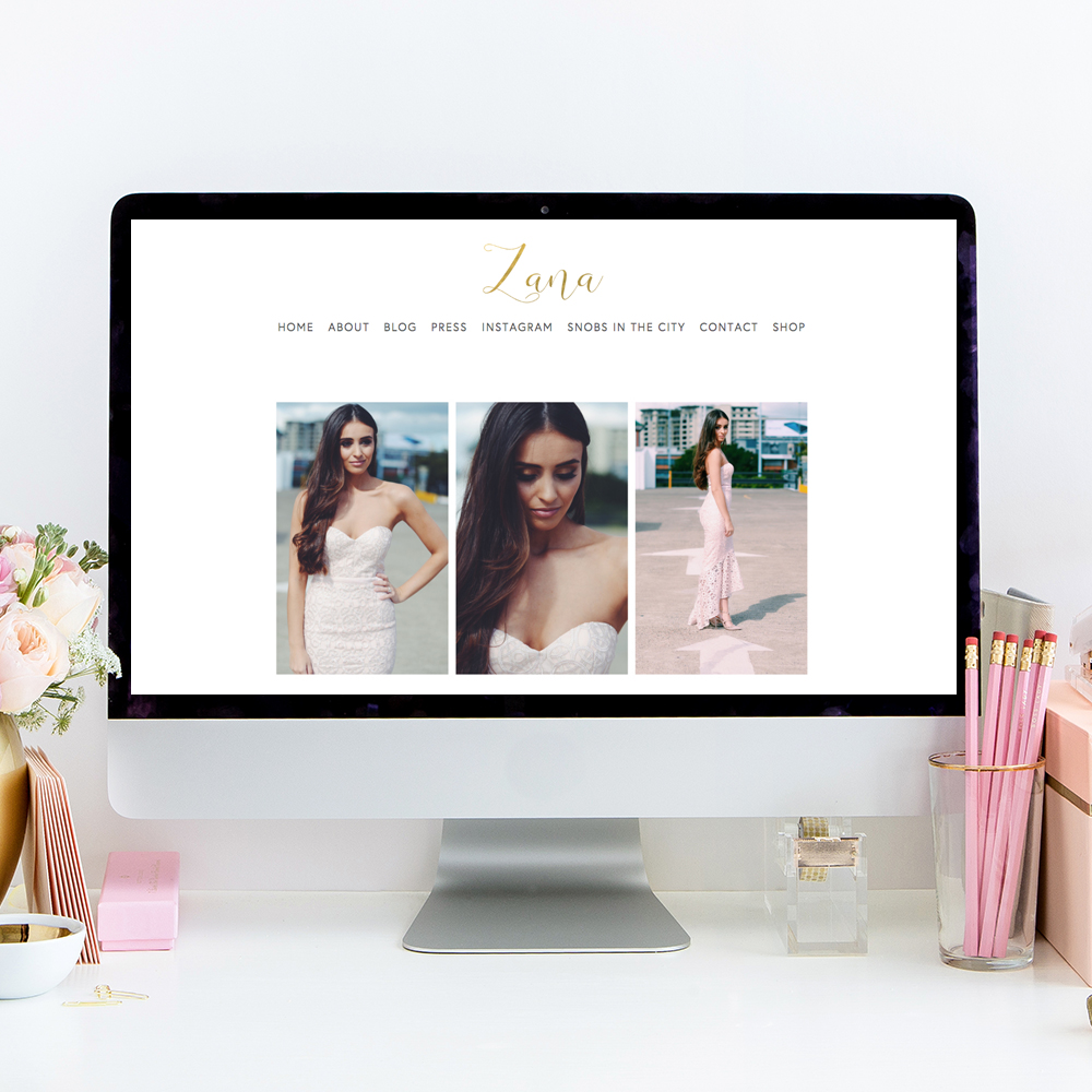 Zana Pali Fashion and Food Blog | Website Design by Heather Sharpe of The Editor's Touch
