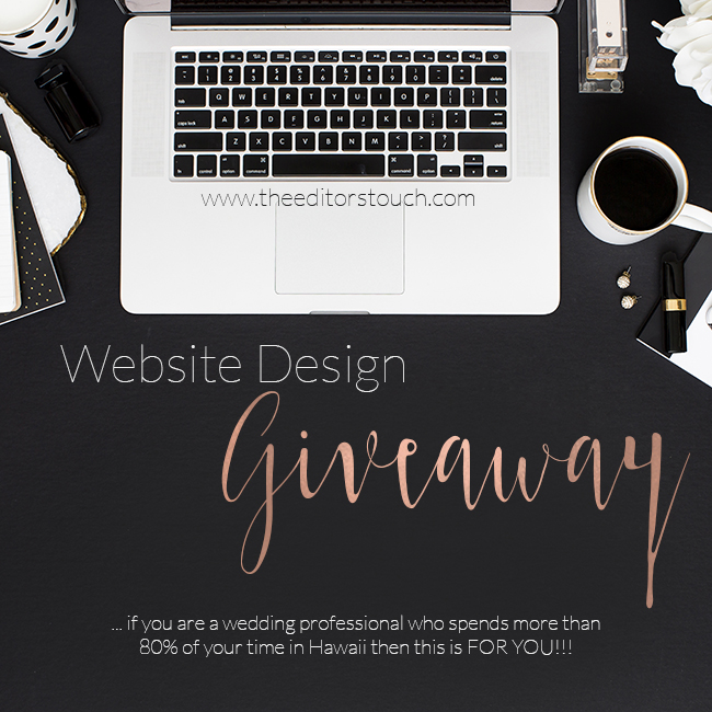 theeditorstouch.com | Hawaii Website Designer | Squarespace Web Design | Website Design Giveaway
