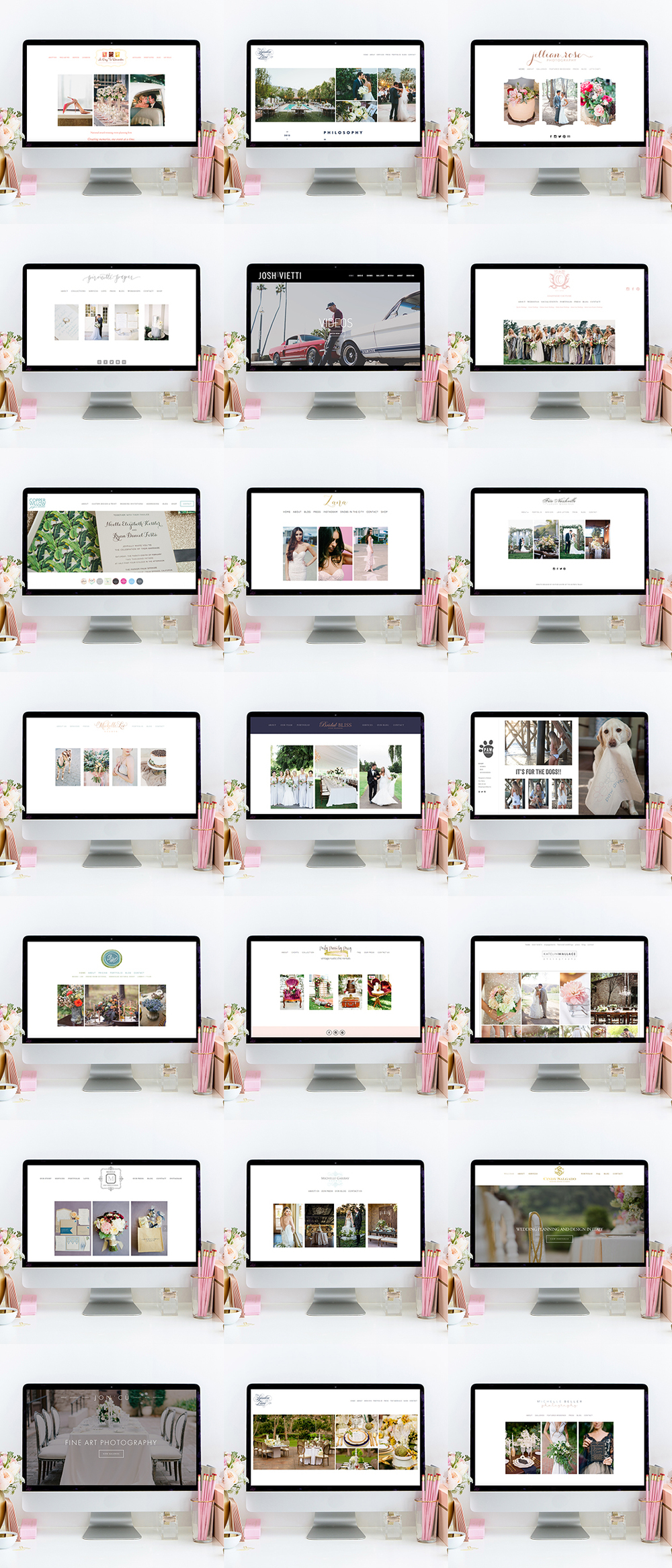 theeditorstouch.com | Squarespace Website Designer | The Editor's Touch | Wedding Pros and Creative Business Owner