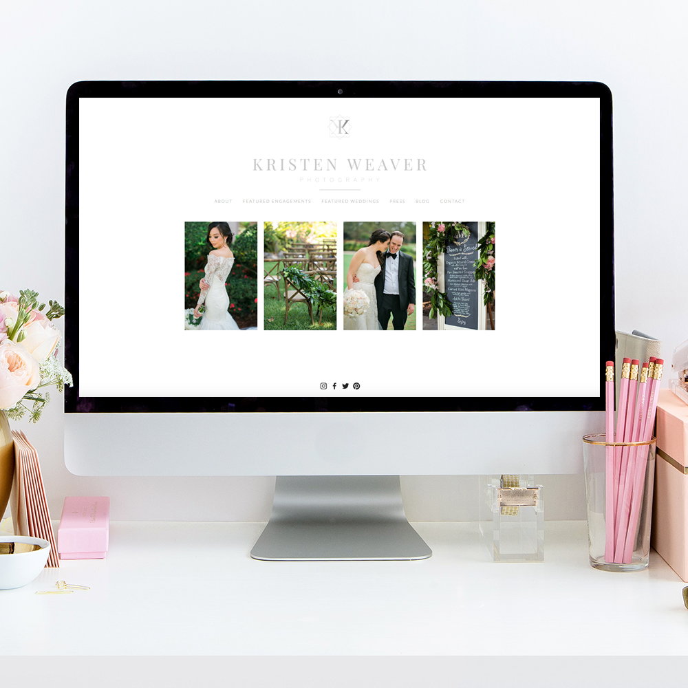 theeditorstouch.com | Kristen Weaver Photography Website Designer | The Editor's Touch | Squarespace Website Designer
