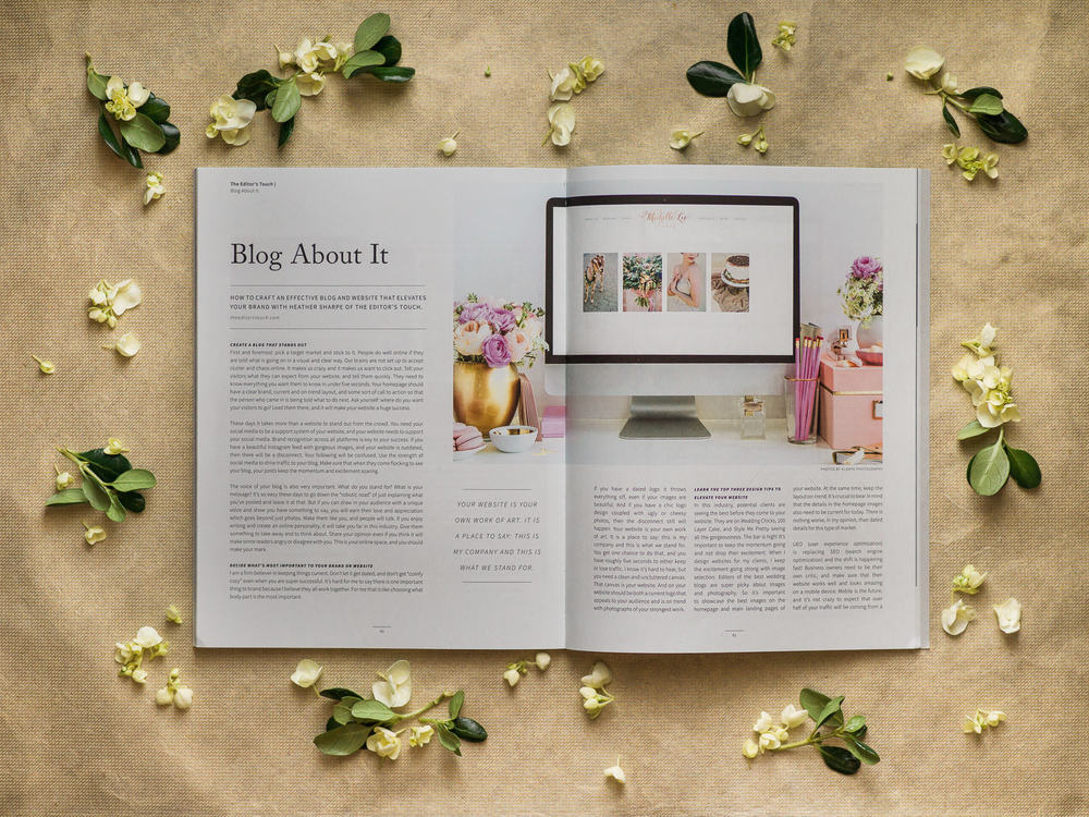 theeditorstouch.com | Featured in AGLOW Magazine | The Editor's Touch