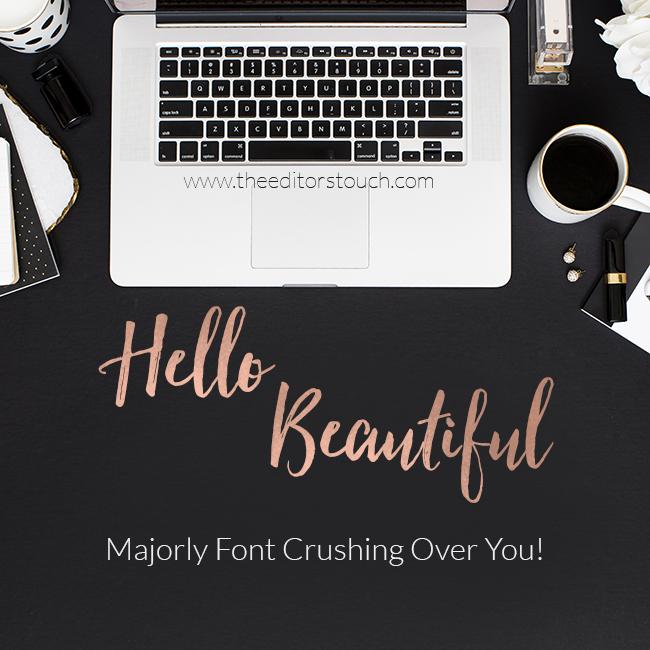 Hello, Beautiful Font | Fontastic Reveal