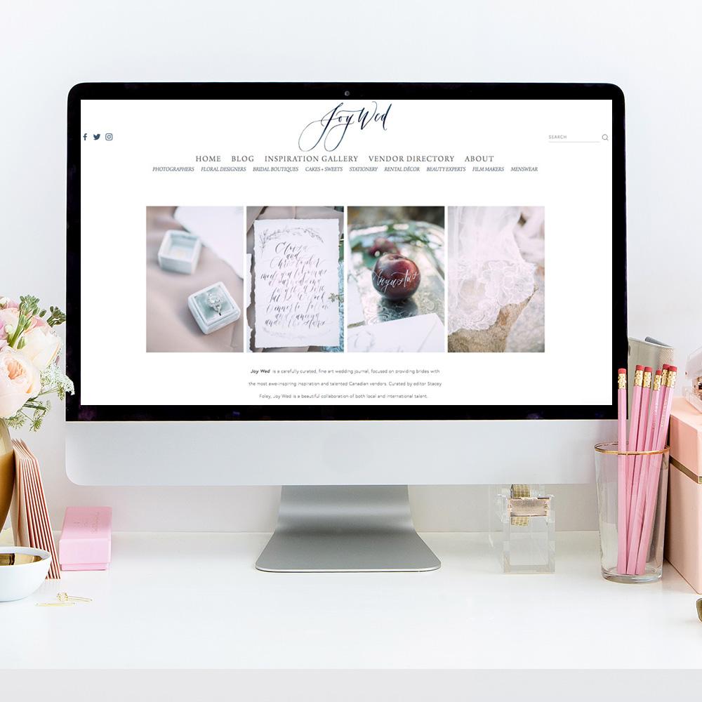 Joy Wed Blog | Website Design For Wedding Professionals