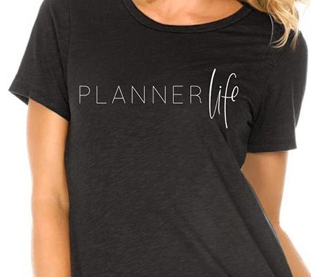 Planner Life t-shirt | LVL Academy