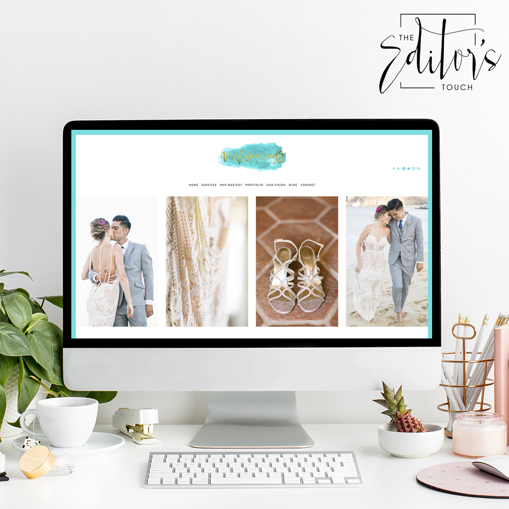 theeditorstouch.com | Squarespace Website Designer | Vivid Occasions