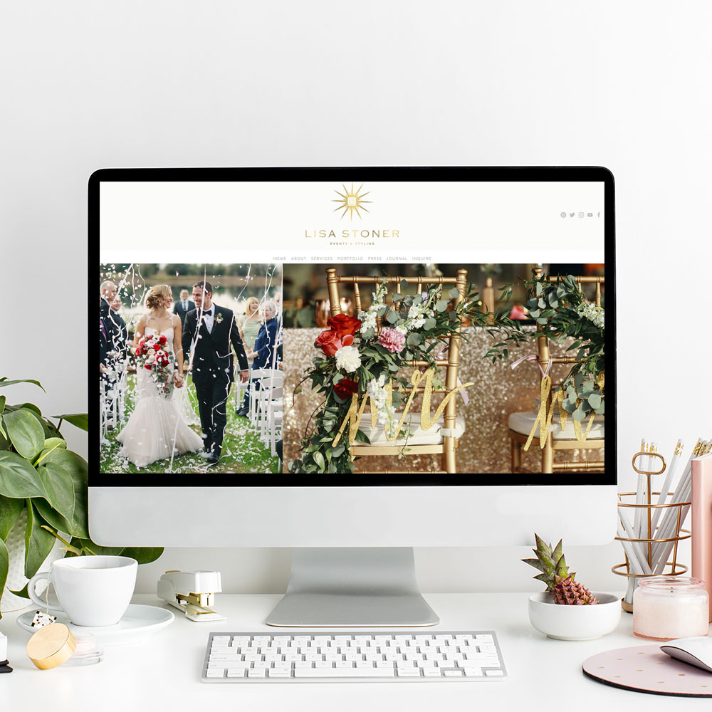 Lisa Stoner Events | Website Designer | The Editor's Touch