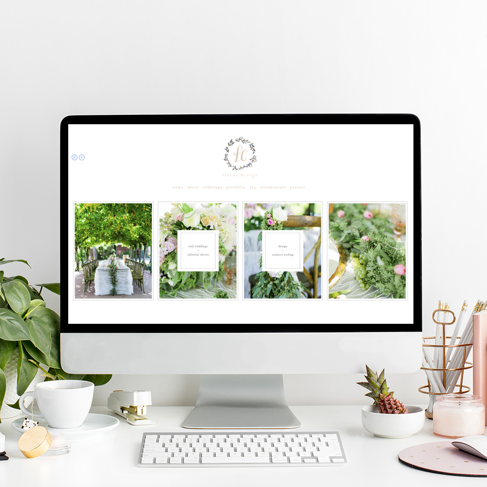 LC Floral Design | Website Designer