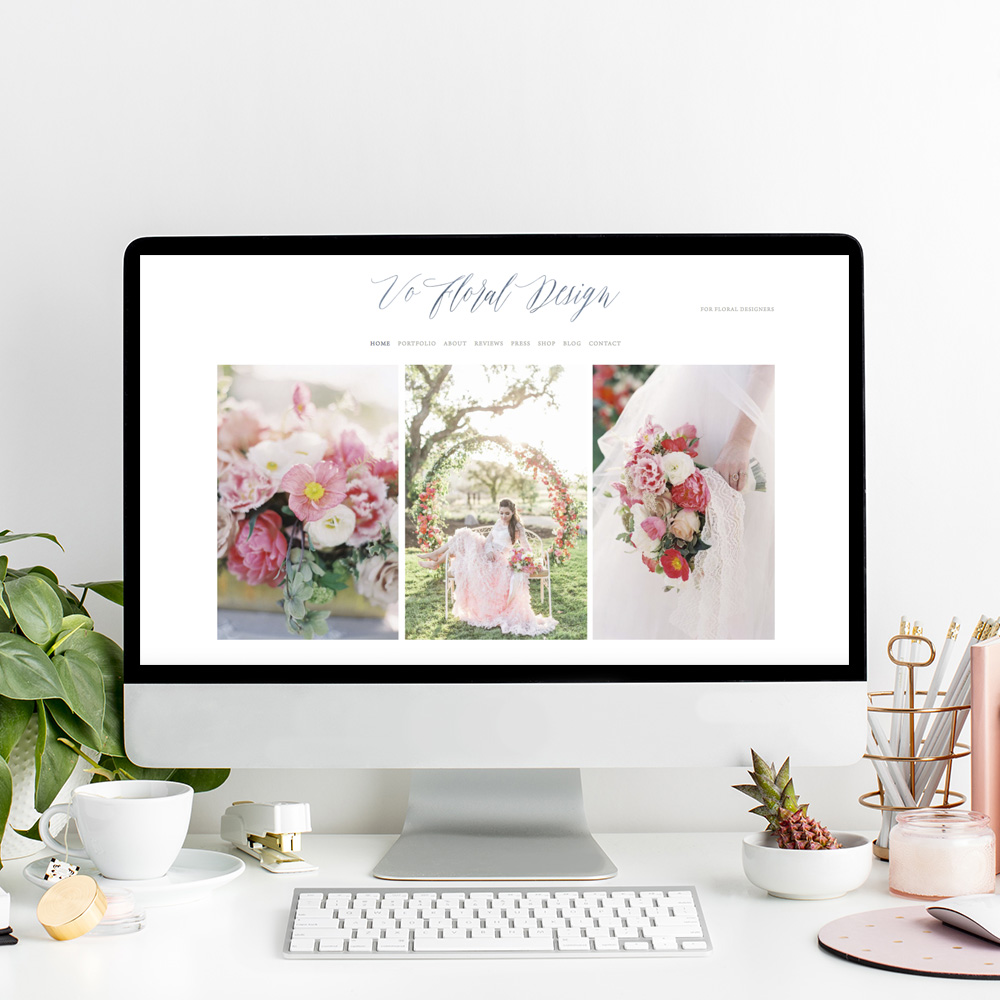 Vo Floral Design | Website Designer