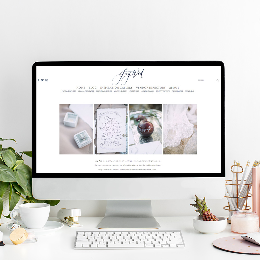 Joy Wed Blog | Website Designer The Editor's Touch