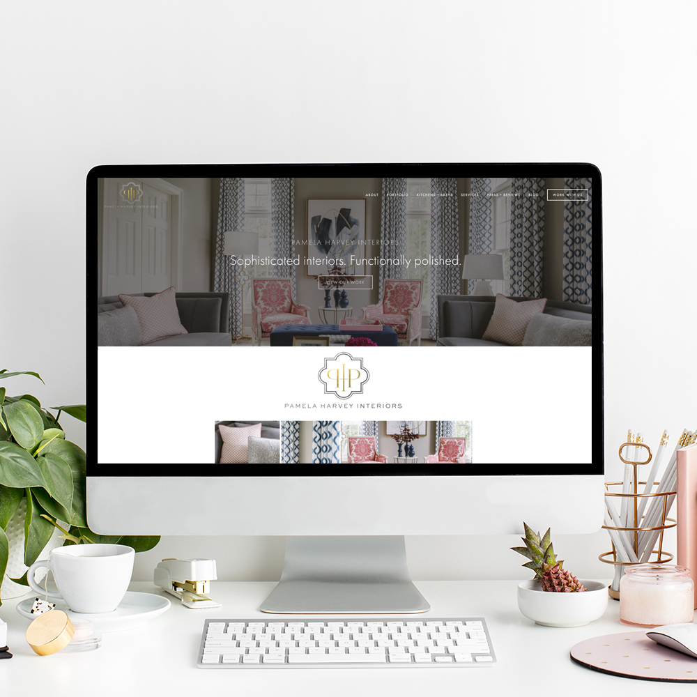 Pamela Harvey Interior Design | Website Designer The Editor's Touch