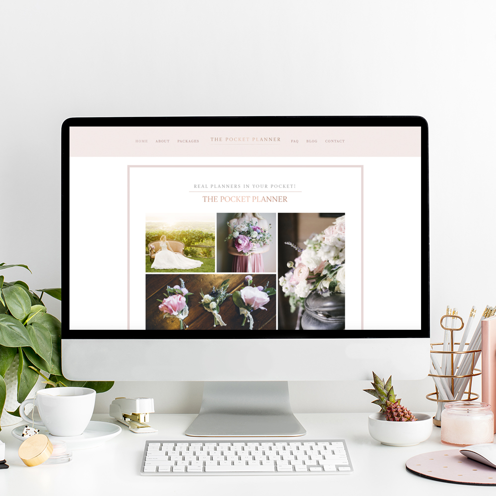 The Pocket Planner | Squarespace Website Designer The Editor's Touch