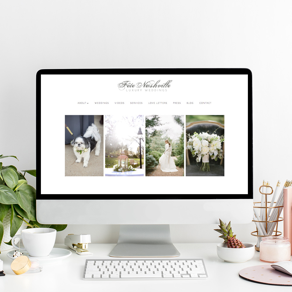 Fete Nashville Website Designer | The Editor's Touch