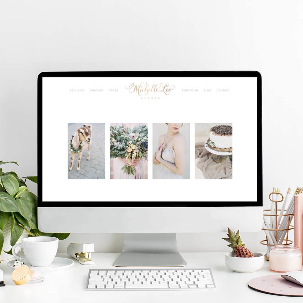 Website Design for Michelle Leo Events | The Editor's Touch