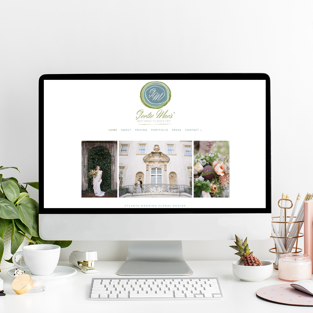 Website Designer for Gertie Mae's Floral Design