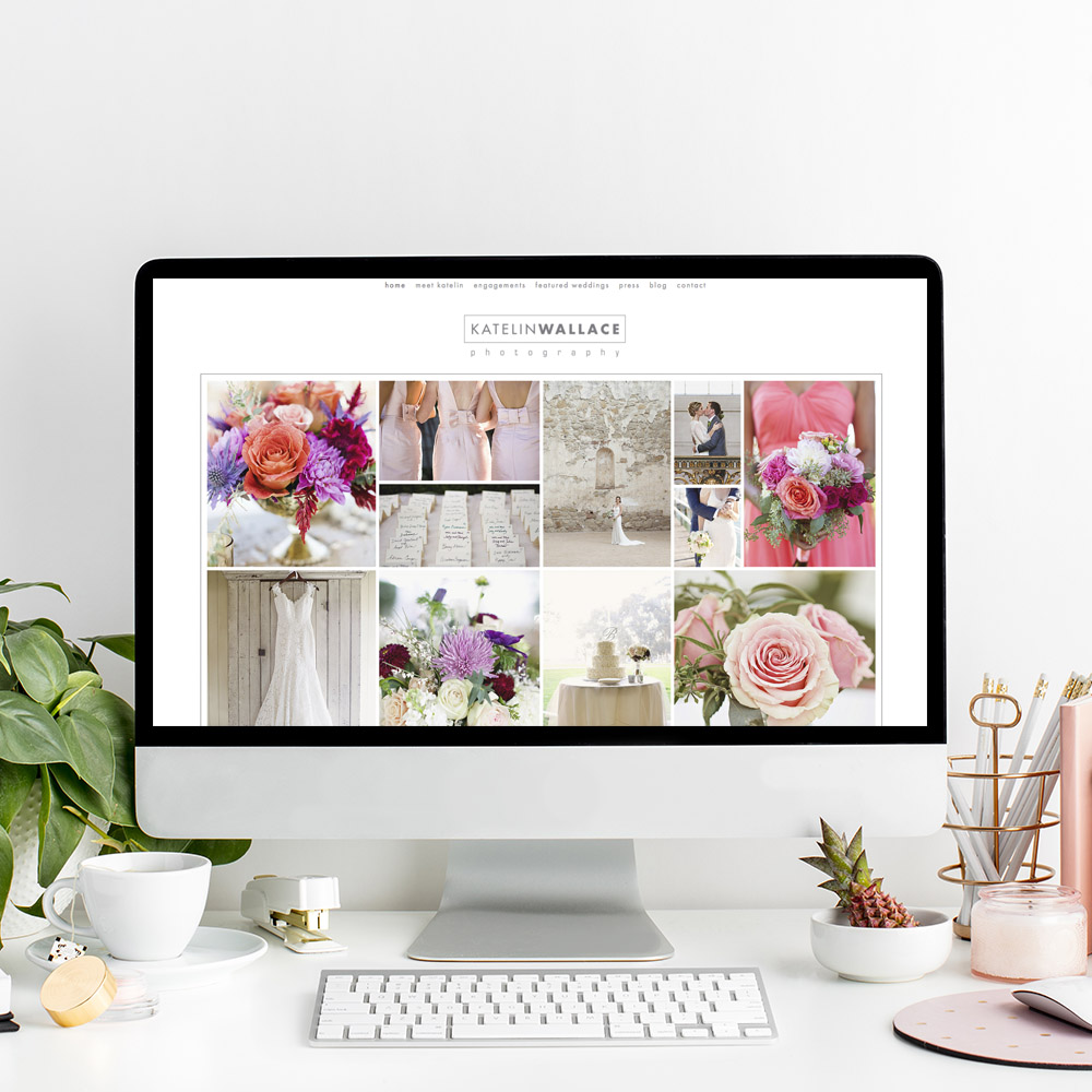 Website Designer for Katelin Wallace Photography