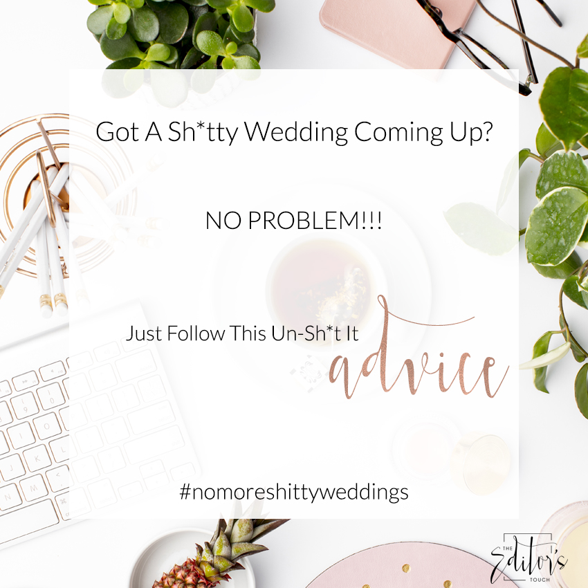 theeditorstouch.com | Styling A Wedding