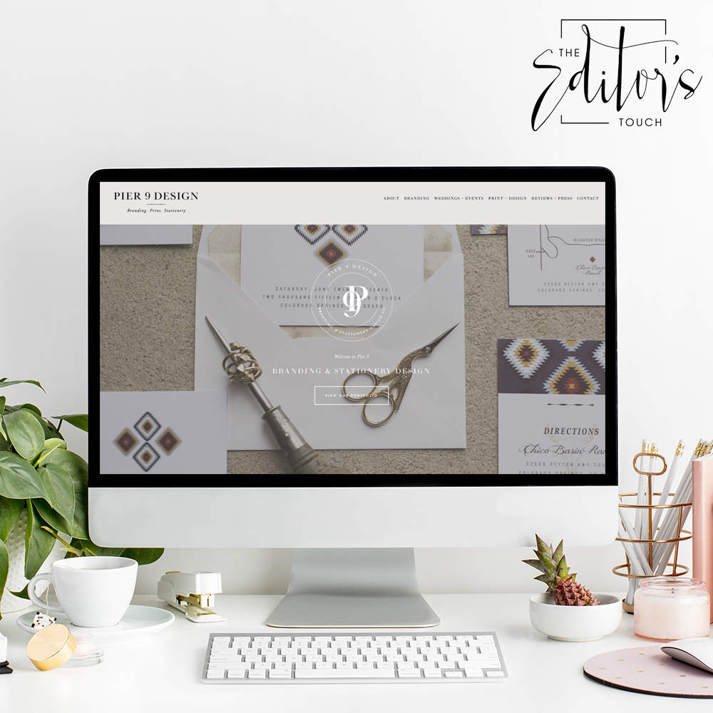 theeditorstouch.com | Squarespace Website Designer for Wedding and Event Planning Professionals | The Editor's Touch | Business Advice Blog