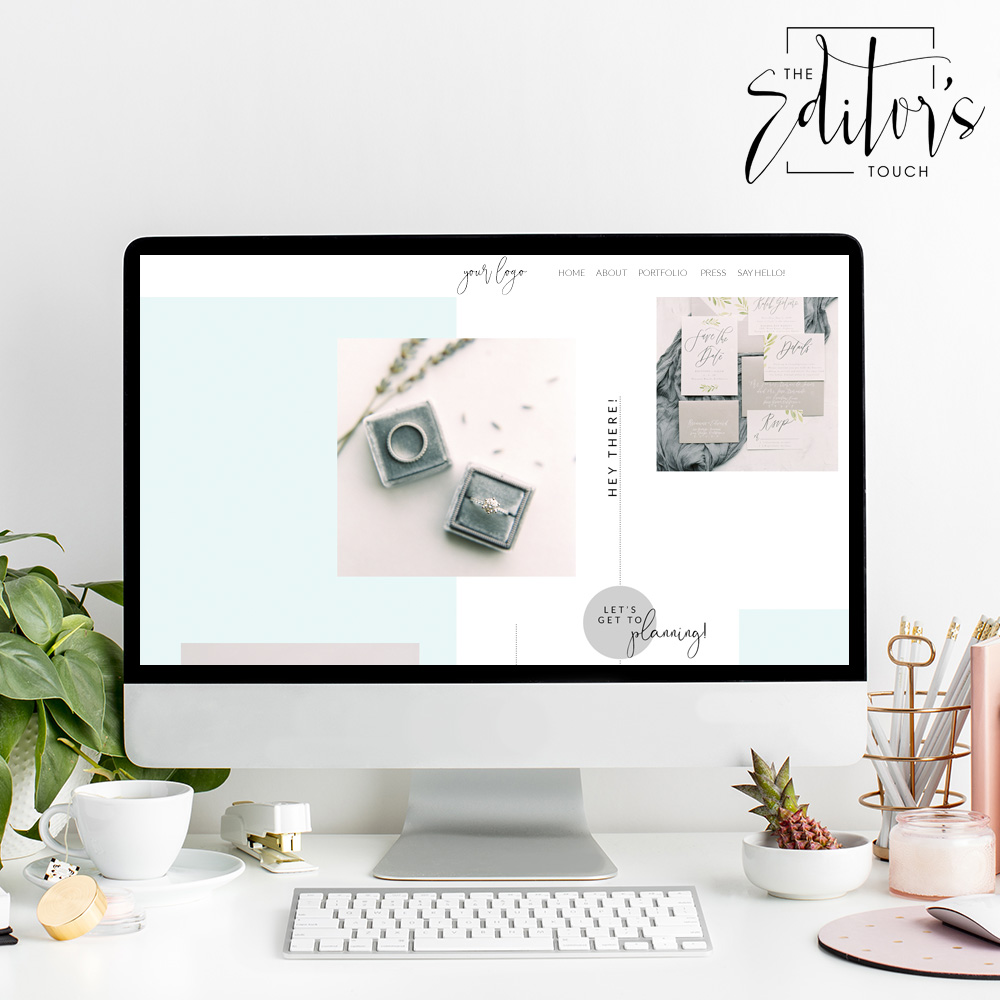 theeditorstouch.com | Squarespace Website Designer For Wedding Professionals and Event Planners | The Editor's Touch | Business Blog