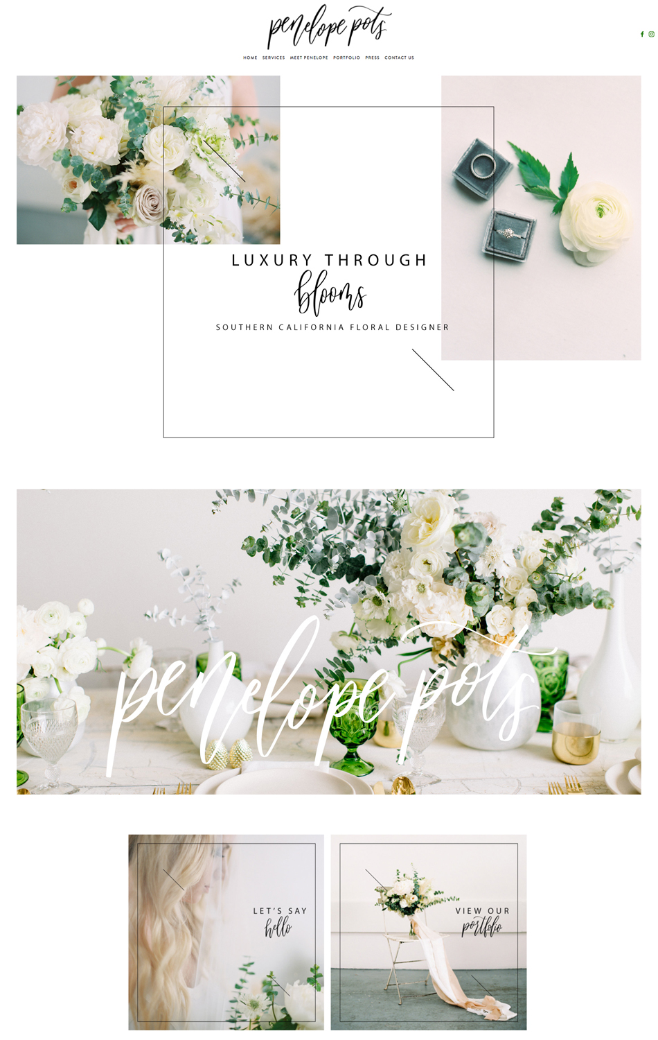 theeditorstouch.com | Squarespace Website Designer For Wedding Professionals and Business Creatives | The Editor's Touch