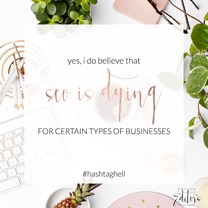 Is SEO Dying For Certain Types of Businesses? | The Editor's Touch | Wedding Industry Expert