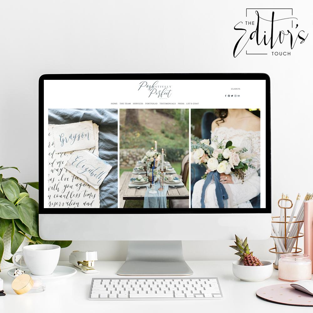 Squarespace Website Designer For Wedding Professionals