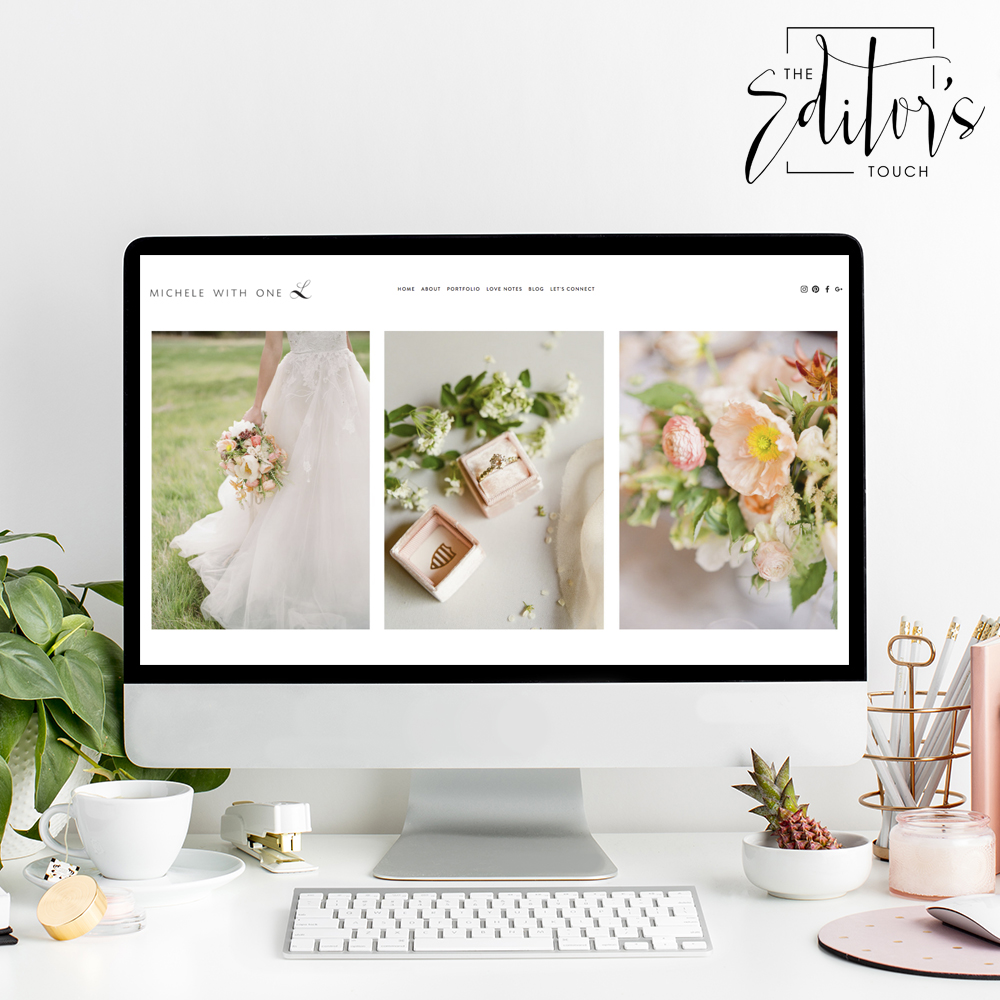 Squarespace Website Designer For Wedding Photographers and Event Planners | The Editor's Touch