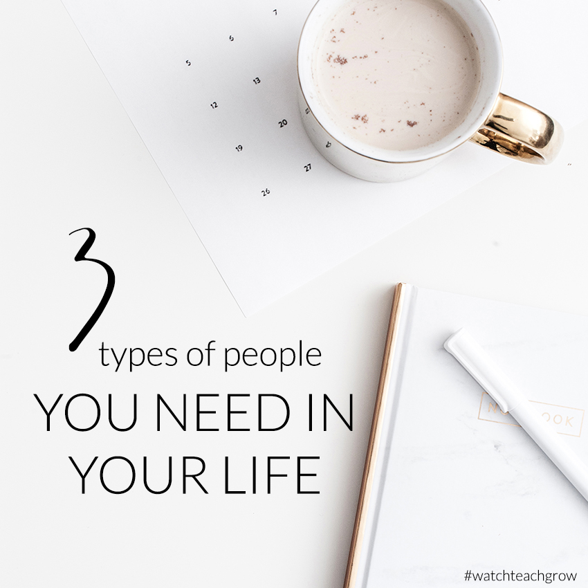 The three types of people every business owner should have in their life | Business Tips Blog For Creatives