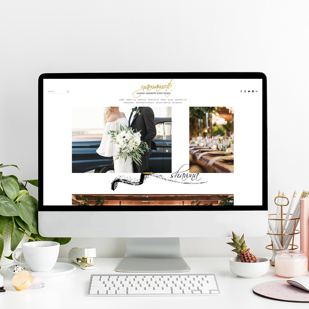 Shawna Yamamoto Website Designer