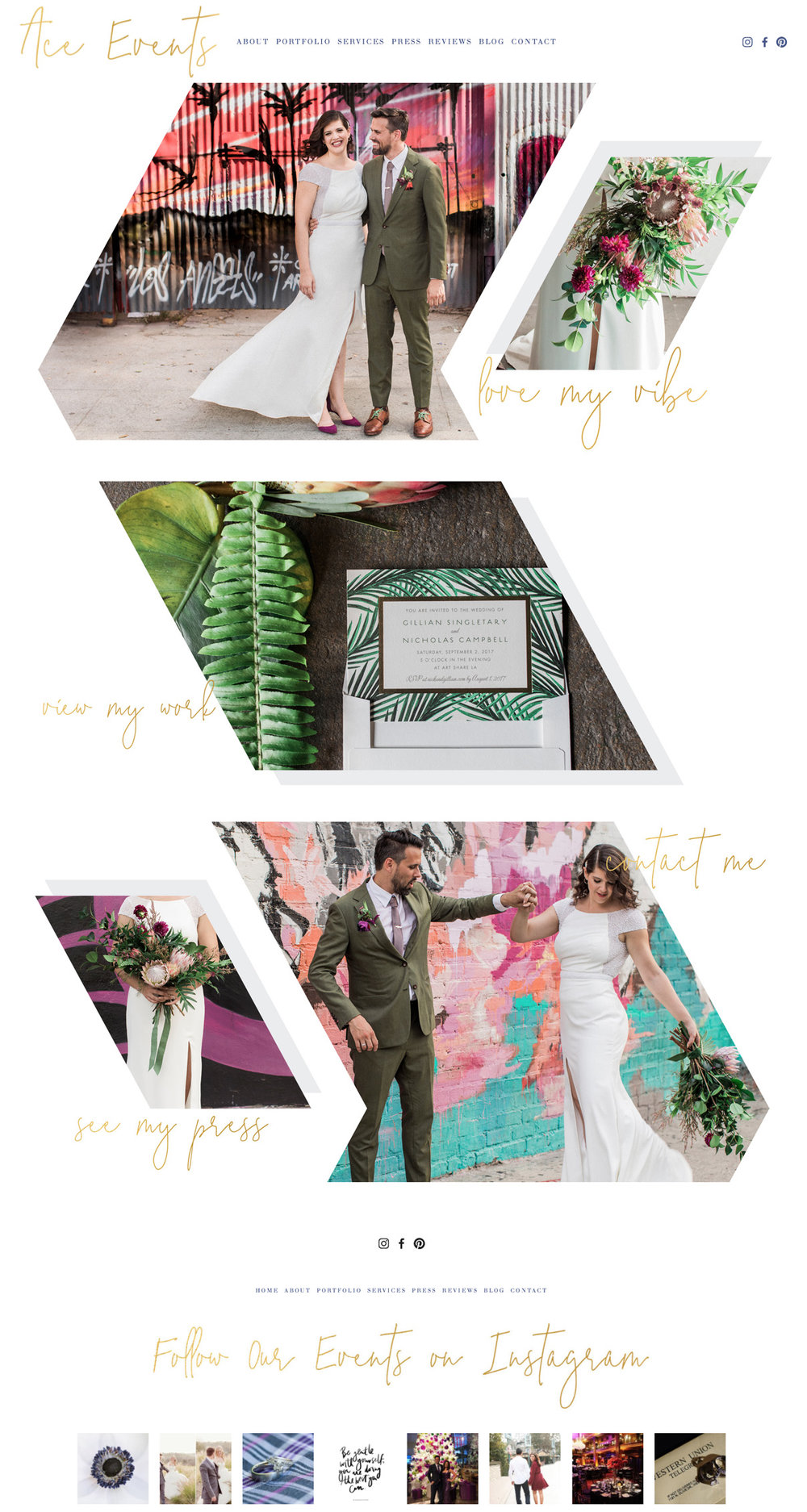 Squarespace Website Designer For Wedding Industry Professionals | The Editor's Touch