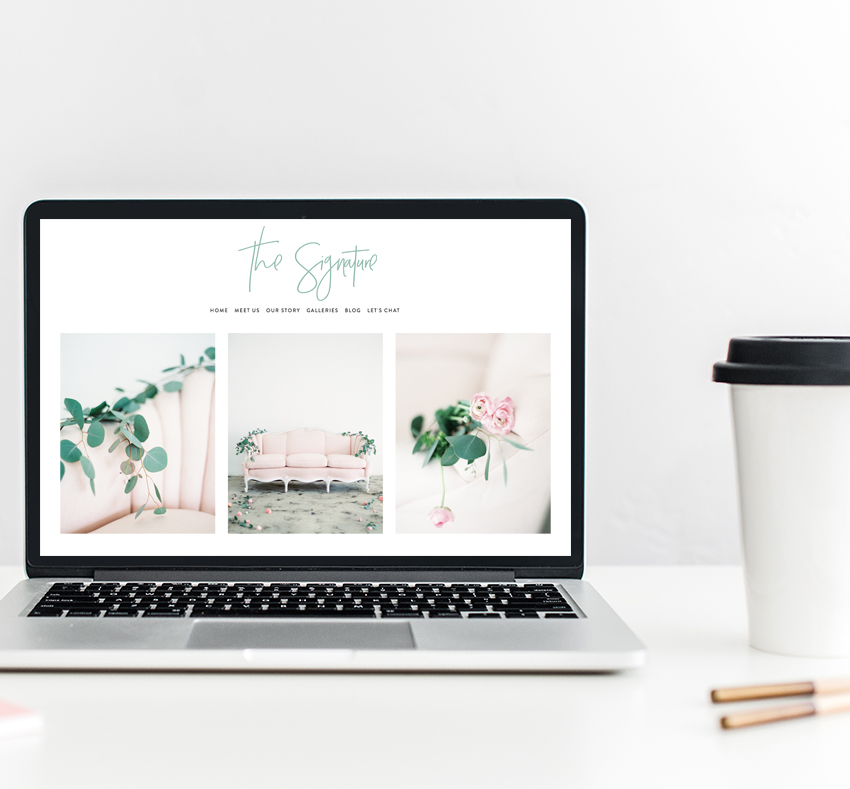 Semi-Custom Website Design | The Editor's Touch