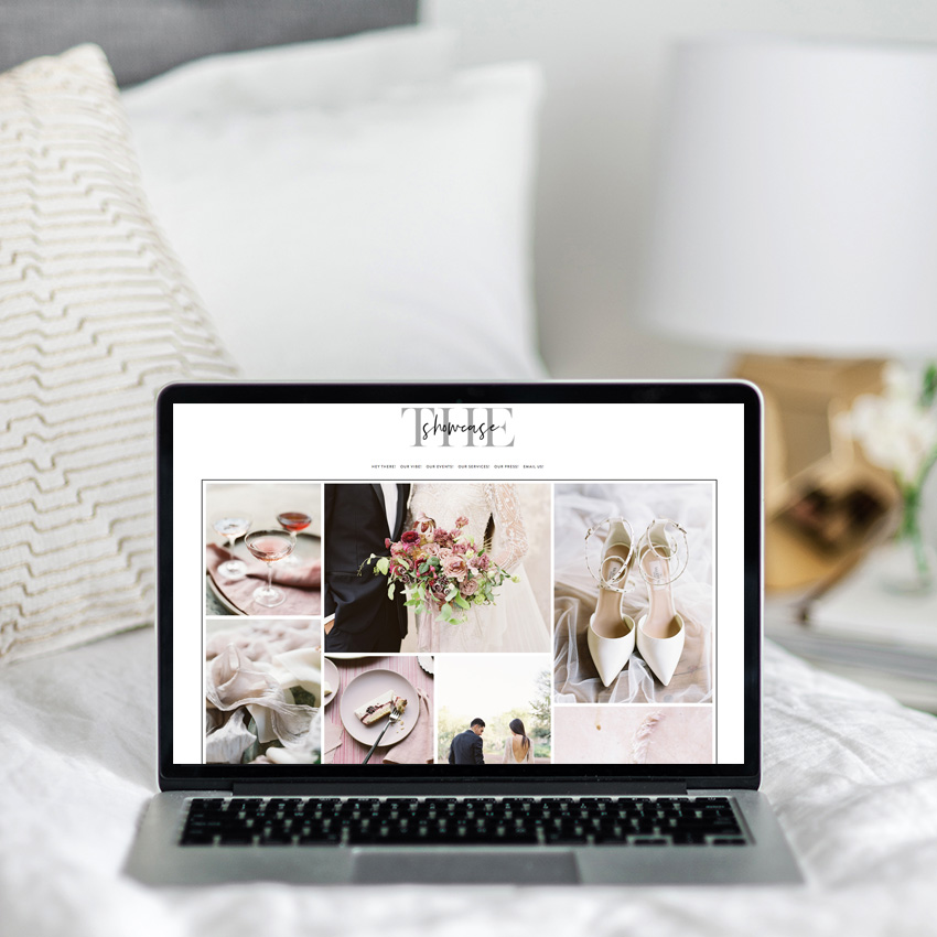 Semi-custom website design | The Showcase | Squarespace web designer | The Editor's Touch