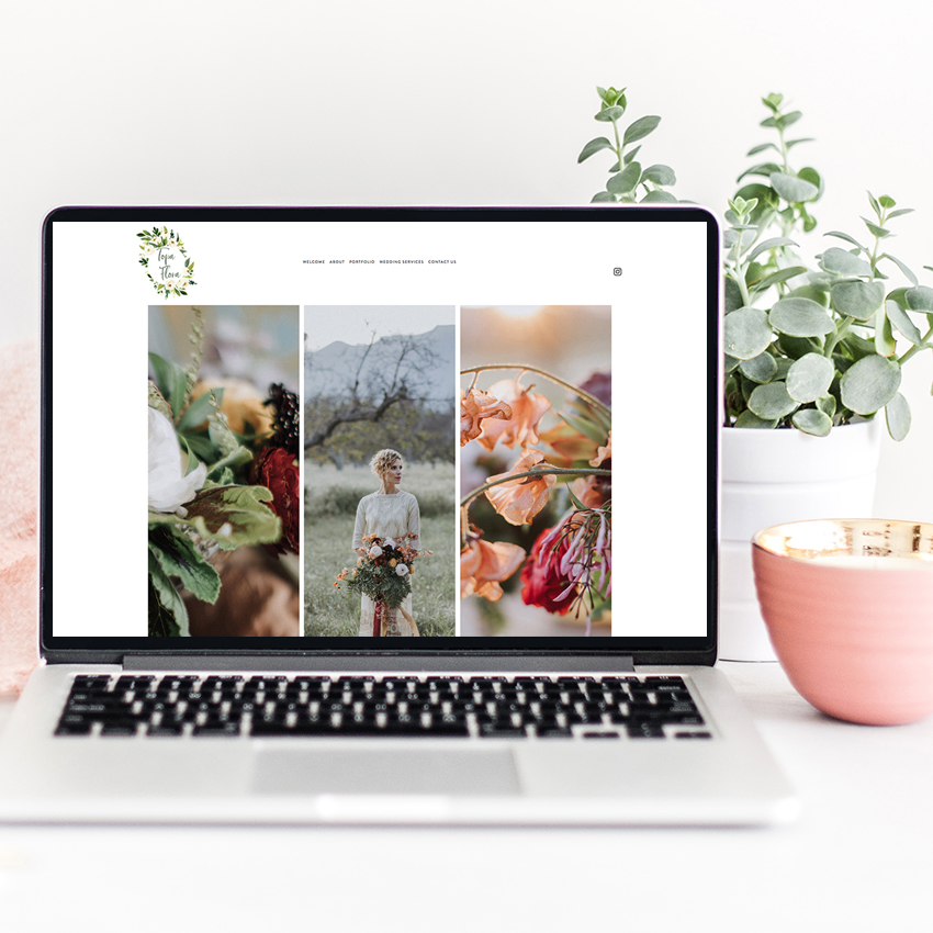 Squarespace Website Designer for Wedding Professionals and Creatives | Web Design by The Editor's Touch