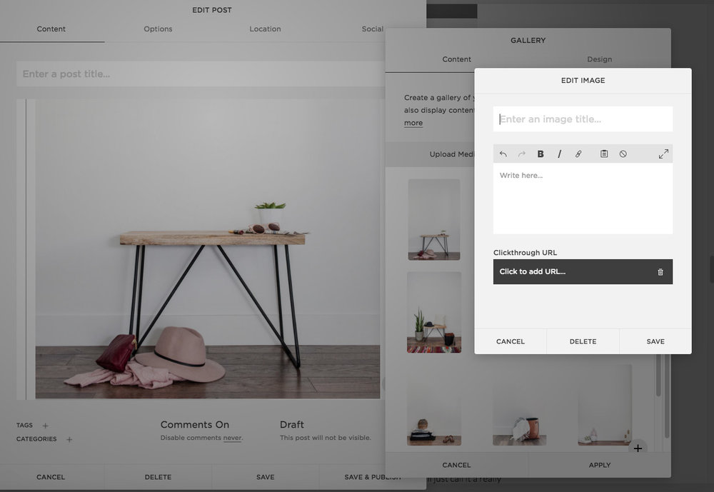 Blogging with Squarespace | The Editor's Touch | Creating Strong Alt Text