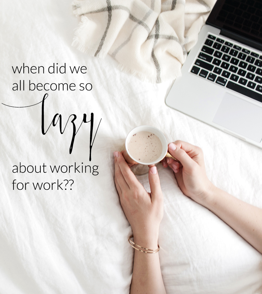 When Did Business Owners Start Becoming So Lazy | The Editor's Touch | Business Blog For Wedding and Event Professionals