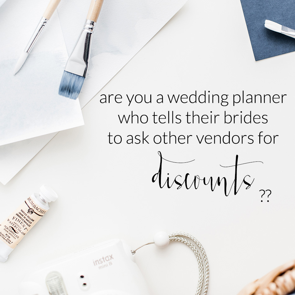 Advice For Wedding Coordinators and Planners | The Editor's Touch