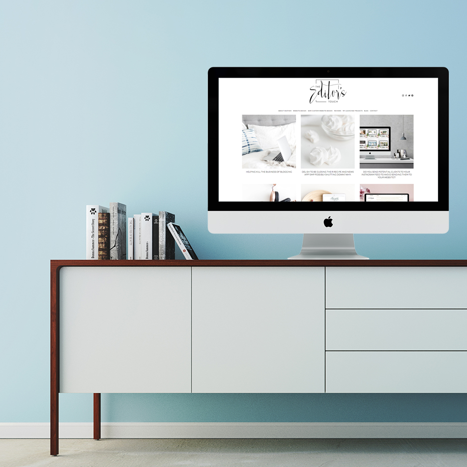 Business Blog For Wedding Industry Professionals and Creatives | The Editor's Touch | Squarespace Website Designer
