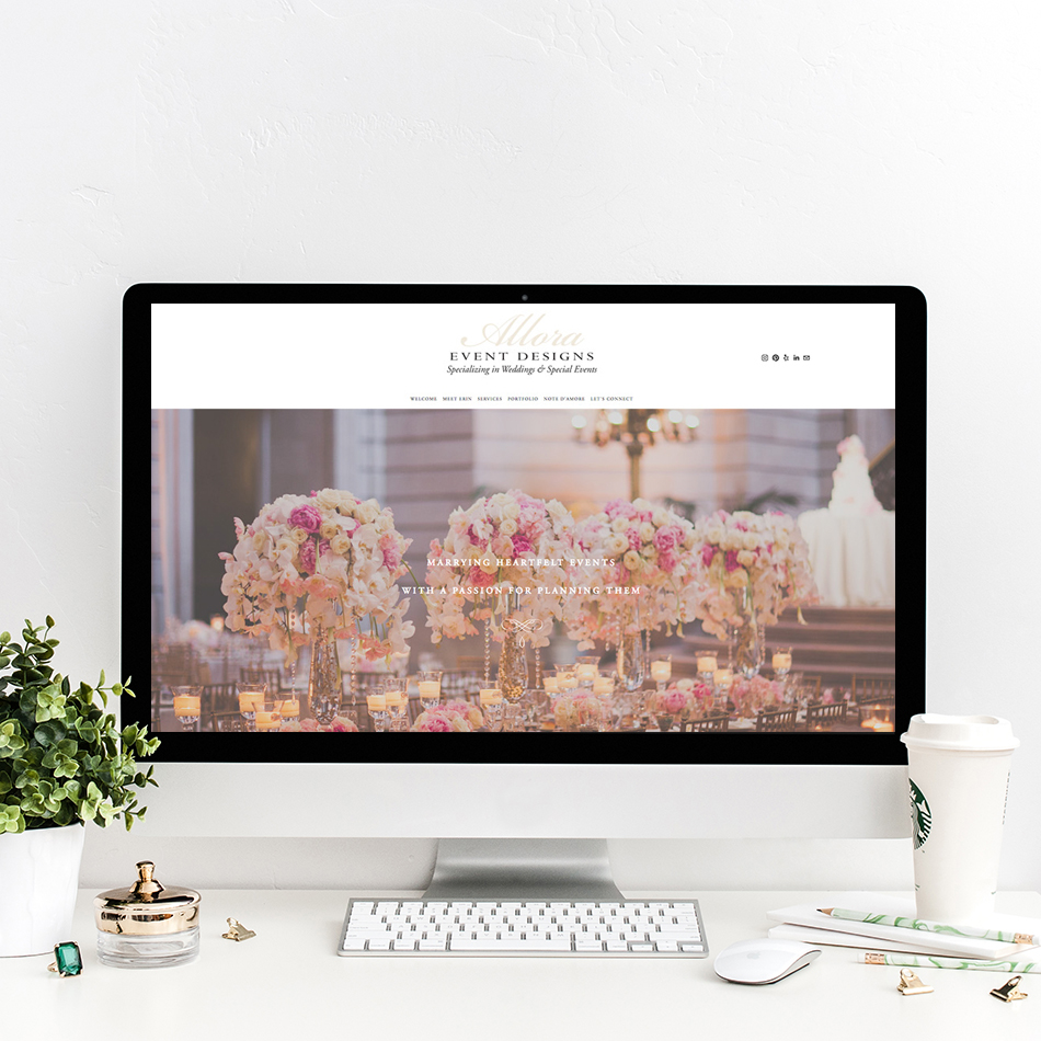 theeditorstouch.com | Squarespace Website Designer | Wedding Industry Expert | The Editor's Touch Web Design