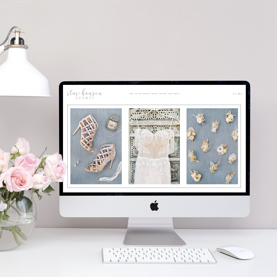Squarespace Website Designer | Wedding Industry Experts | The Editor's Touch