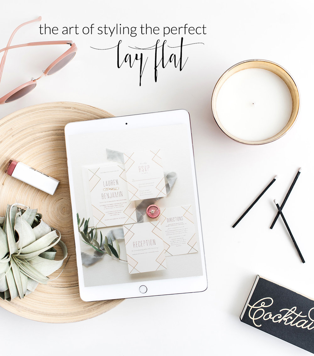 The Art Of Styling The Perfect Lay Flat | Wedding Planner Workshops by LVL Academy | Lorely Meza Photography