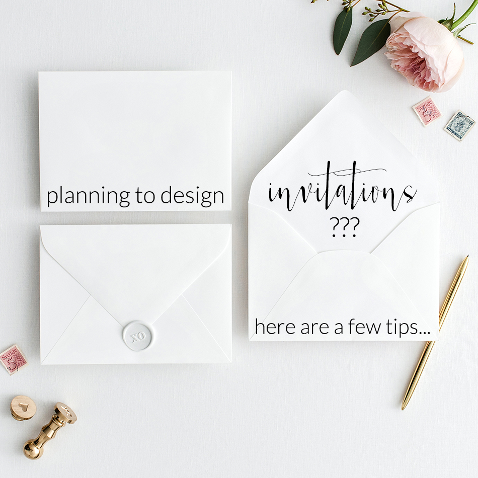 Tips for Wedding Invitation Designers | The Editor's Touch