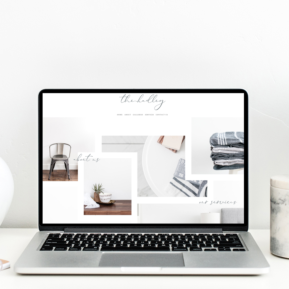 theeditorstouch.com | The Editor's Touch | Squarespace Website Designer | The Hadley Semi Custom Design
