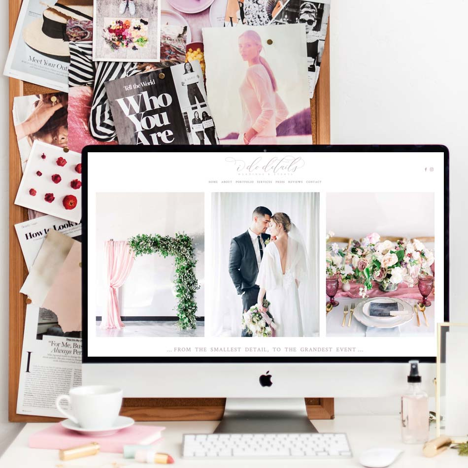 theeditorstouch.com | The Editor's Touch Squarespace Website Designer for Wedding Industry Professionals | Las Vegas Weddings | Web Design For Creatives