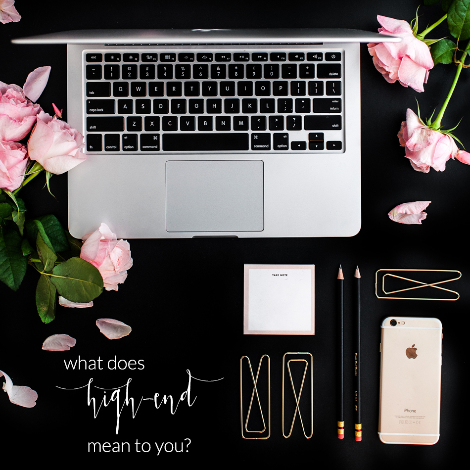 What is High-End Branding and How Do You Achieve It | The Editor's Touch | Wedding Industry Expert