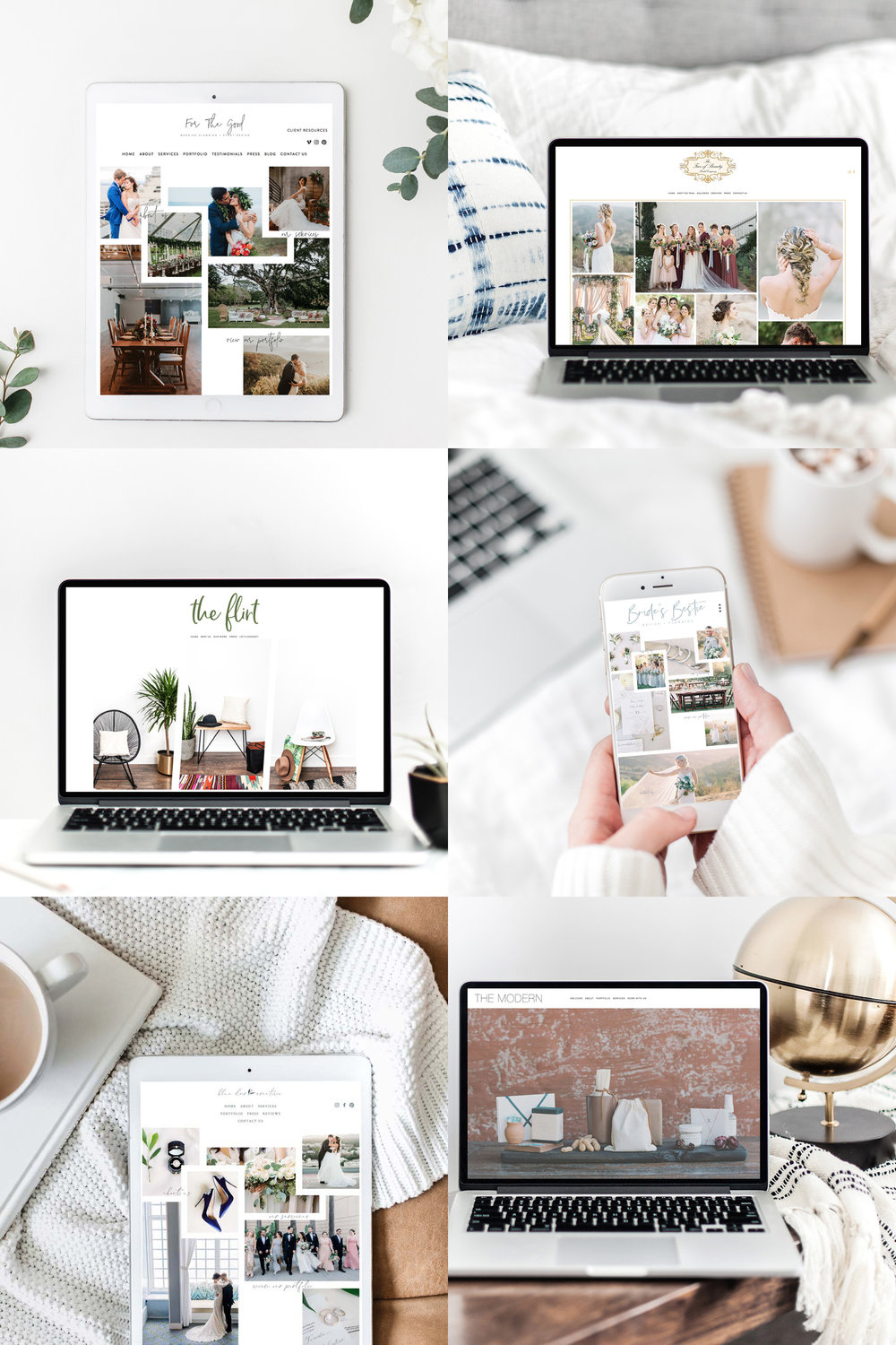 Squarespace Website Designer For Creatives and Wedding Professionals | The Editor's Touch