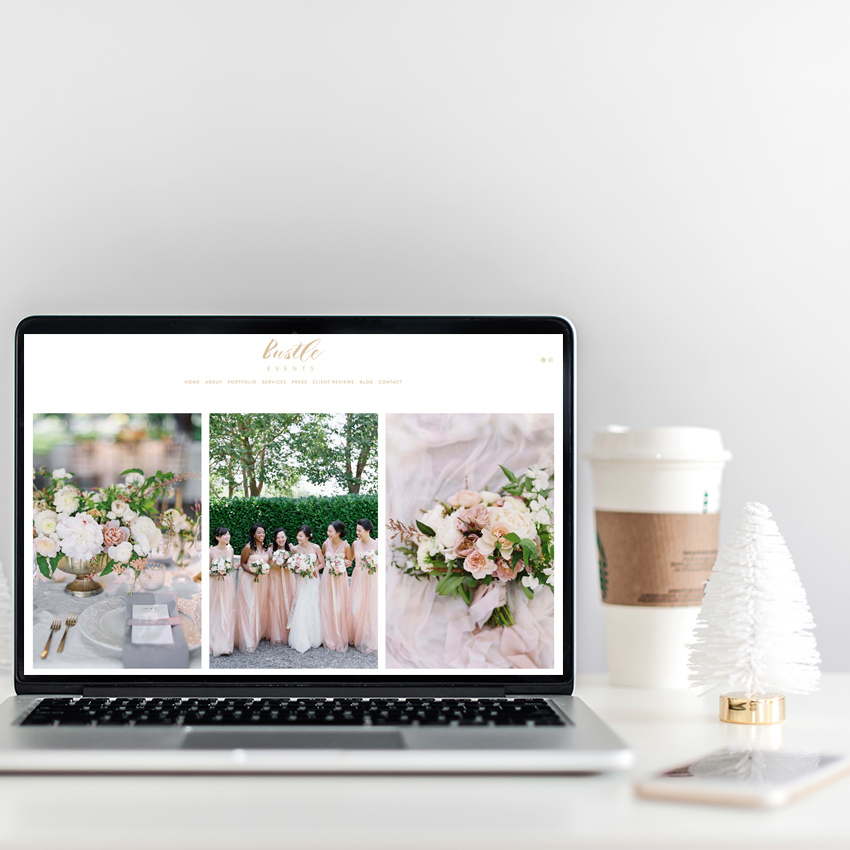 Squarespace Website Designer For Wedding Professionals | The Editor's Touch