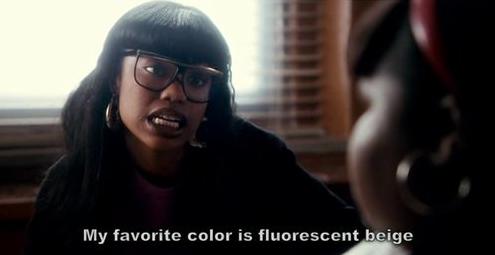 fluorescent beige